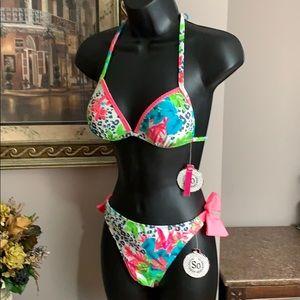 SO Authentic American Heritage Bikini NWT S/M